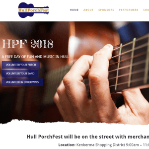 Hull PorchFest 2018