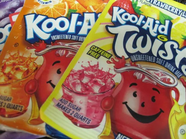 Do you dilute Kool-Aid? Photo: Patricia Vollmer