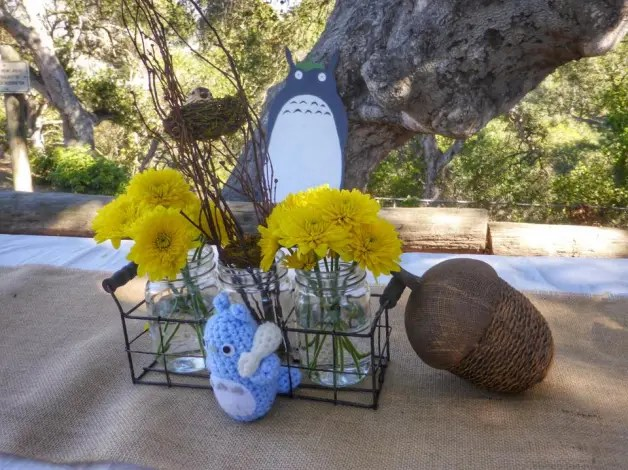 Totoro decor. Photo by Marie Payette.