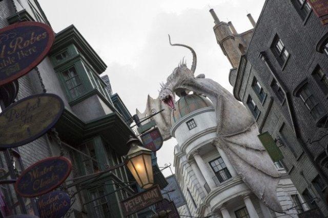 Diagon Alley  Image courtesy of Universal Orlando