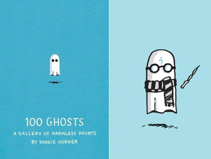 100 Ghosts  Images: Quirk Books