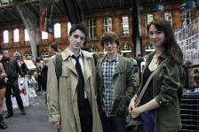 Castiel, Sam, & Dean Winchester © Sophie Brown