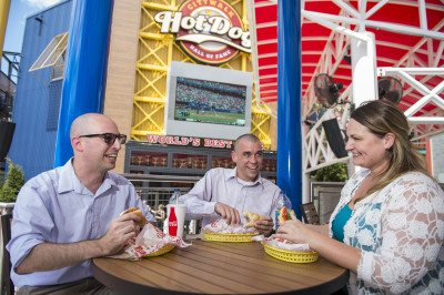 Hot Dog Hall of Fame at CityWalk  Image courtesy of Universal Orlando
