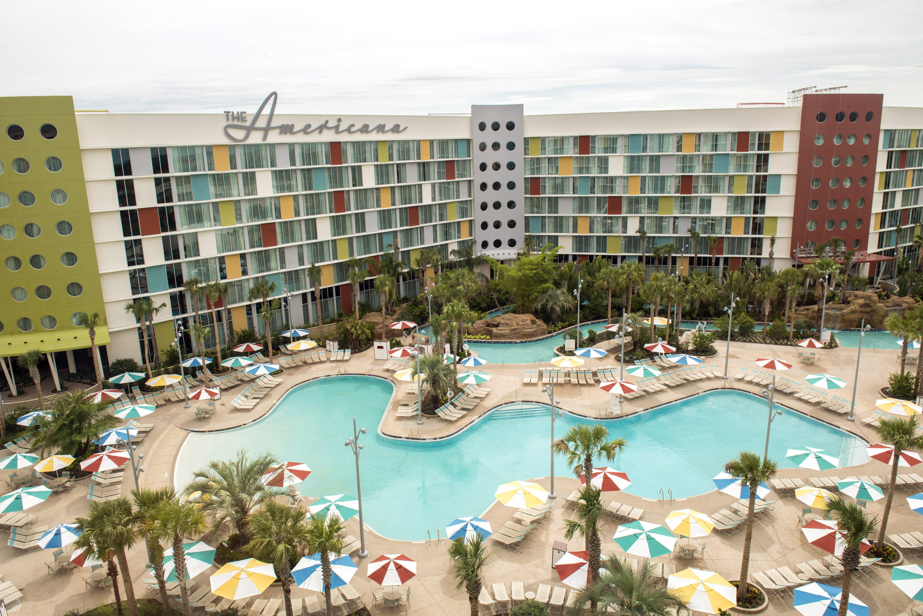 Cabana Bay Beach Resort Quieter Pool  Image courtesy of Universal Orlando Resort