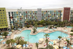 Cabana Bay Beach Resort Quieter Pool  Image courtesy of Universal Orlando Resort