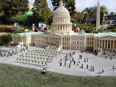 Miniland in Legoland Park. Photo: Jenny Williams