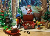 Hooray! Santa got the Pirates gold for Christmas! How did he know that was their favorite?