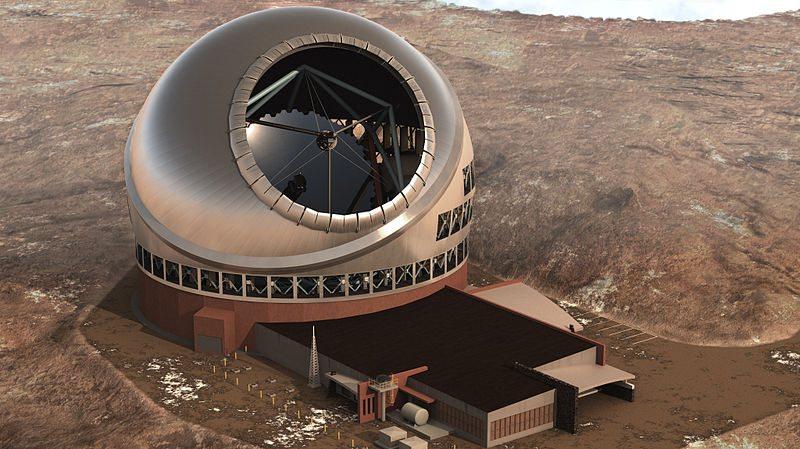 30-meter telescope planned atop Mauna Kea