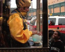 Zoltar, Mermaid Parade 2010. Photo credit: Andrea Schwalm