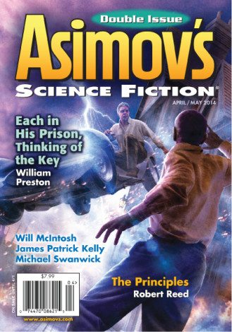 Asimov's Science Fiction. Copyright 2014 by Penny Publications LLC/Dell Magazines.