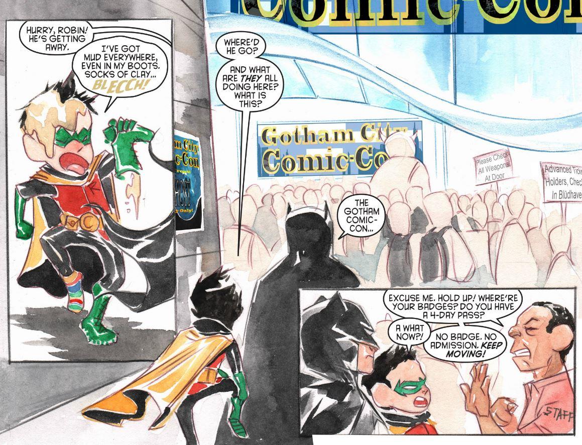 Batman Li'l Gotham Issue 9  Image: DC Comics