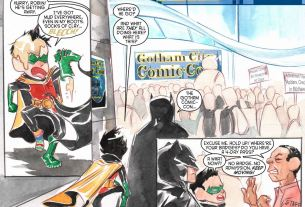 Batman Li'l Gotham Issue 9  Image: DC Comics