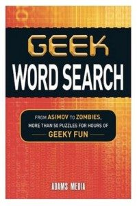 Geek Word Search Image: Adams Media