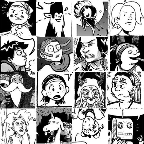 Some of the characters of Cartozia. Image: Cartozia Tales