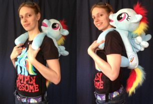 This backpack is full of pony awesomeness!  Image: Dakster Sullivan