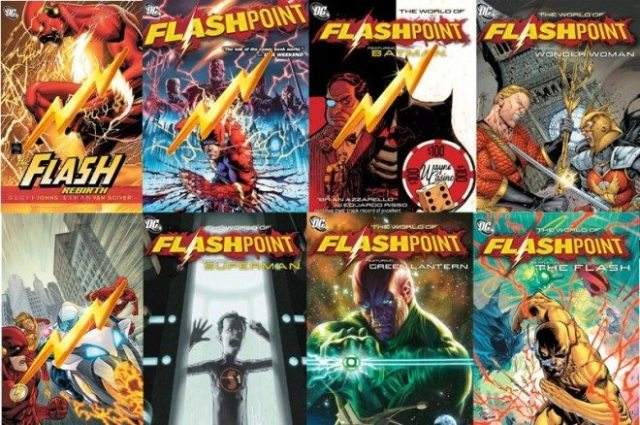 Flashpoint cover art copyright DC Comics