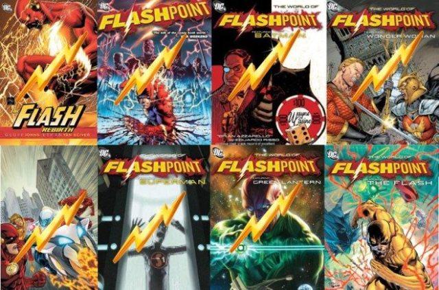 Flashpoint Cover Art  Images: DC Comics