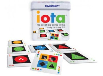 2013 Card Game of the Year: Iota. Image: Gamewright