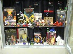 Middle shelf of I Spy / Batman display. (Photo used with permission)