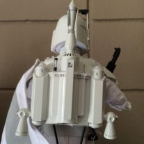 Does this jetpack make my back look funny? Image: Dakster Sullivan