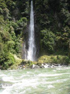 Like Rivendell, South Island has waterfalls everywhere. Photo, Fran Wilde
