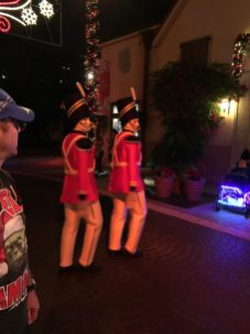 Toy Soldier mimes anyone? Image: Dakster Sullivan