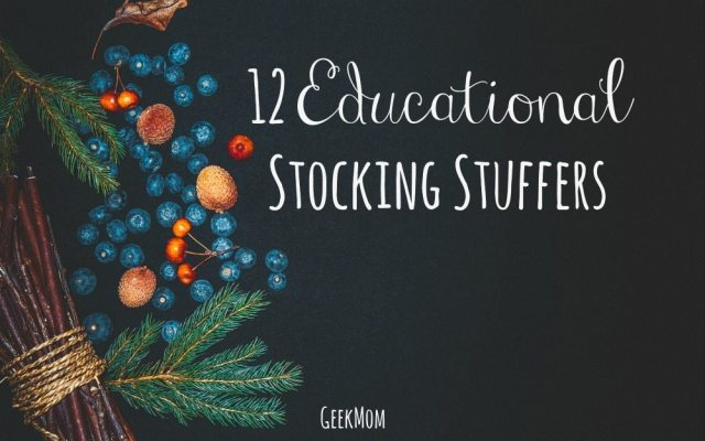 12 Educational Stocking Stuffers