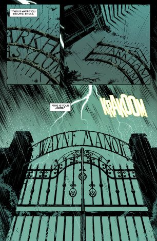 Panel from Batman Annual #4, copyright DC Comics