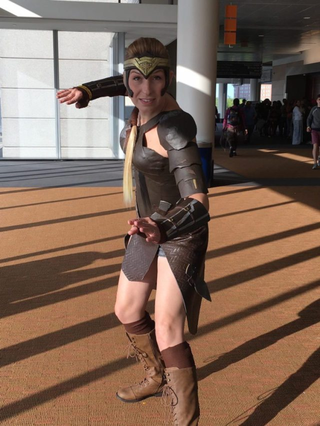 Antiope cosplay, Boston Comic Con