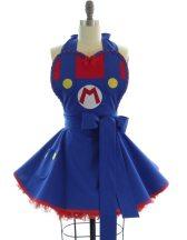Super Mario via Bambino Amore on Etsy.