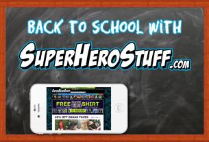 Back to school with SuperHeroStuff.com  Image: Dakster