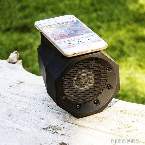 Boom Box Touch Speaker. Image: Firebox