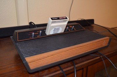 Our new gaming system. The controls were so incredibly simple back then. Image credit: Patricia Vollmer.
