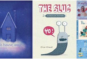 My favorite read-alouds this month. Image credit: Ariane Coffin
