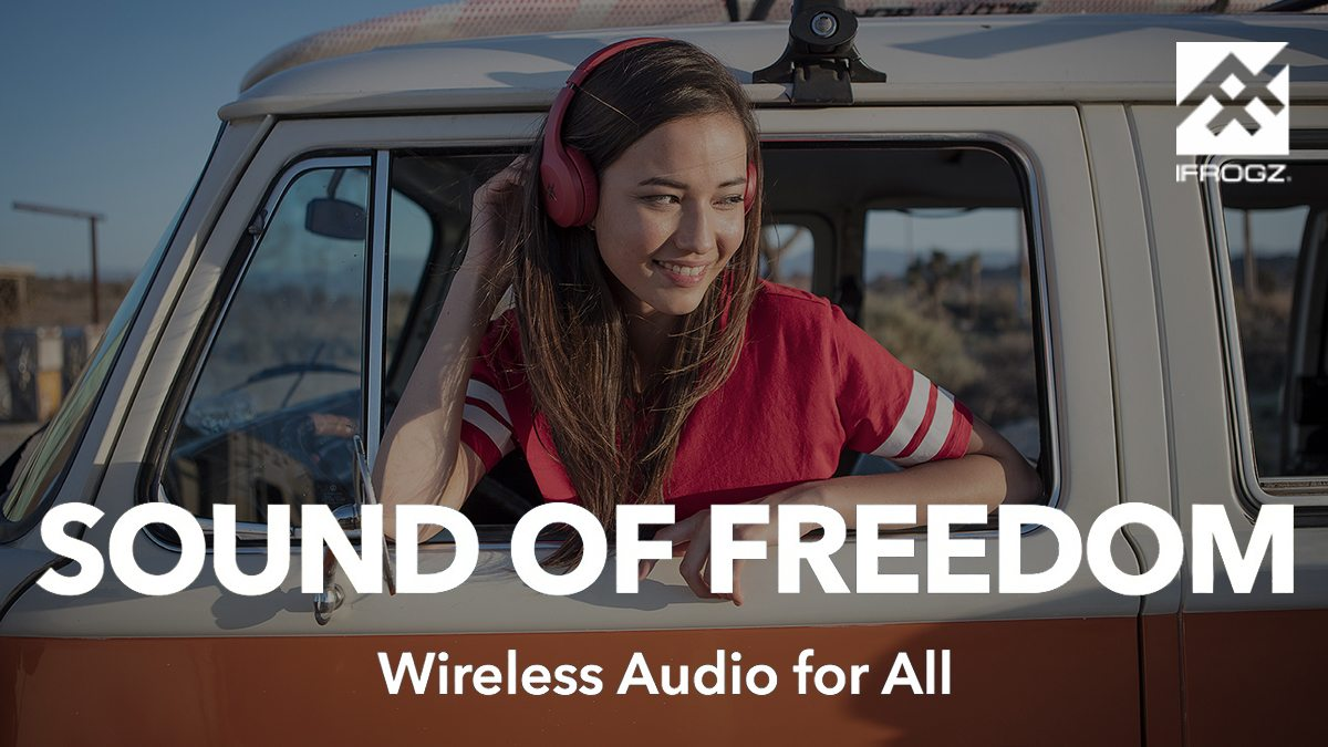 Hear the sound of freedom \ Image: iFrogz