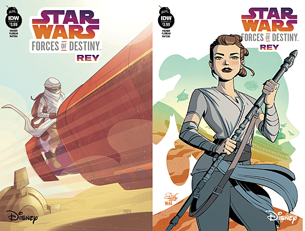 Star Wars: Forces of Destiny #2 - Rey, Images: IDW Publishing