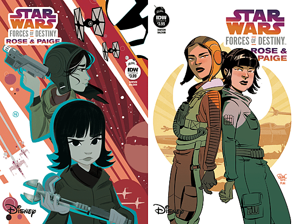 Star Wars: Forces of Destiny #5 - Rose and Paige, Images: IDW Publishing