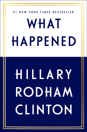What Happened, Image: Simon & Schuster