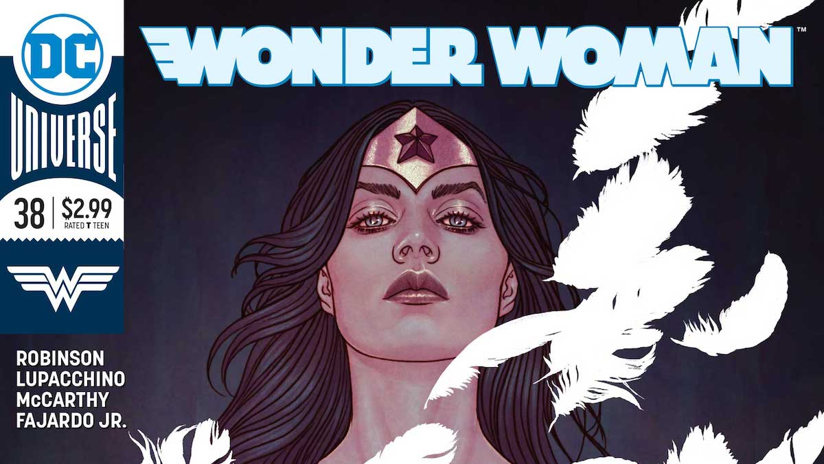 Wonder Woman #38 cover,