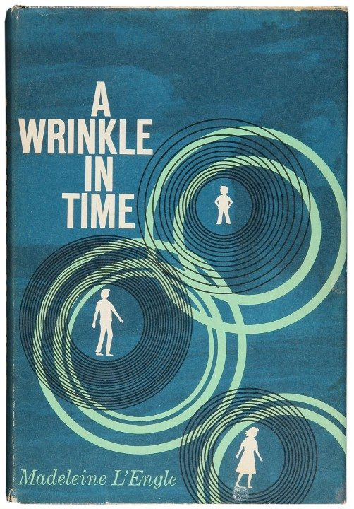 A Wrinkle In Time by Madeleine L'Engle, 1962 cover