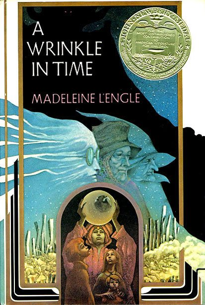 1983 Edition of A Wrinkle In Time by Madeleine L'Engle, art by Leo and Diane Dillon