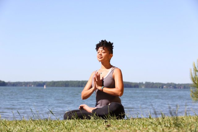 Jedi Master Yoga pose