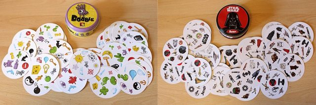 Dobble Cards and Tins, Images: Sophie Brown
