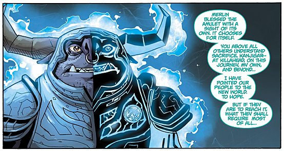 Trollkind Panel Two, Image: Dark Horse Comics