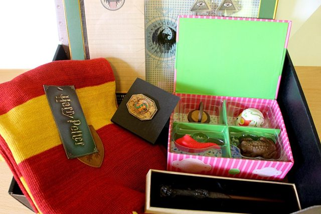 Wizarding World Crate, Image: Sophie Brown