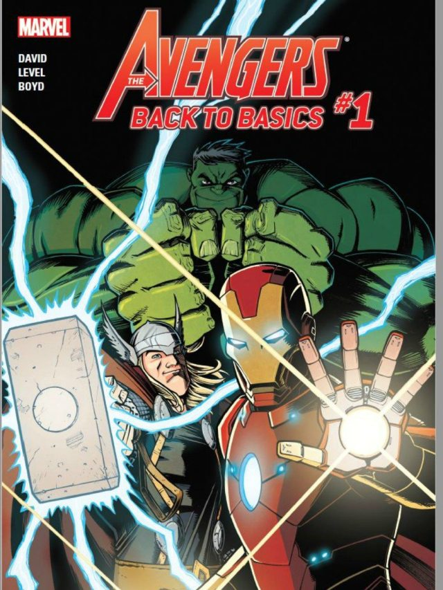 Cover shows Iron Man, Thor, and Hulk