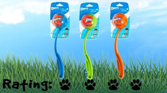 Chuckit! Sport Launcher. Four paws! \ Image: Petmate.com