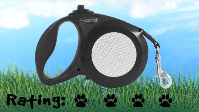 Petmate K9 Control Retractable Leash. Four paws! \ Image: Petmate.com