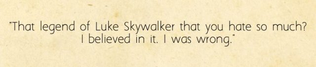 Second Quote from The Last Jedi Novelization, Image: Sophie Brown
