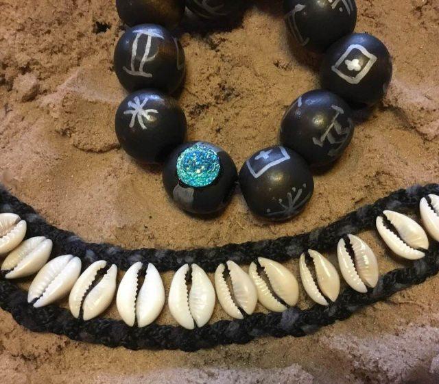 DIY Shuri-inspired Marvel bracelets and necklaces